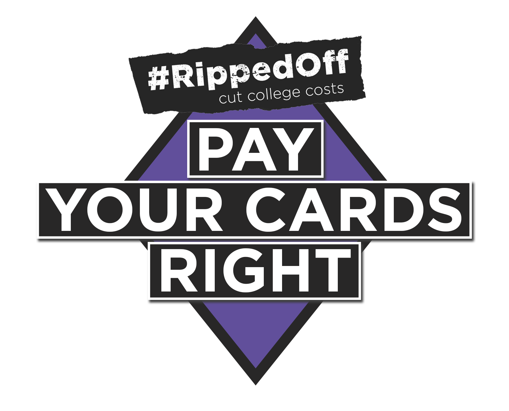 Pay your cards right logo