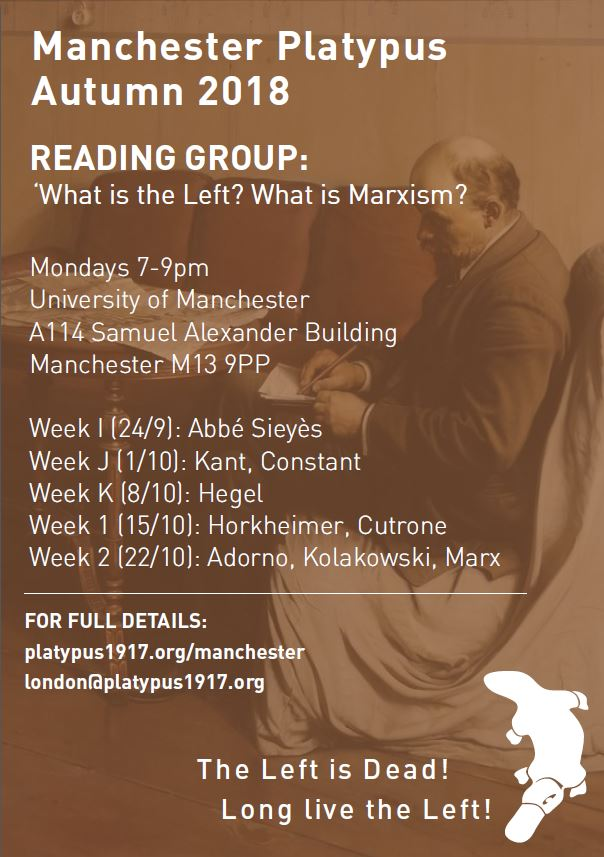 Reading Group poster