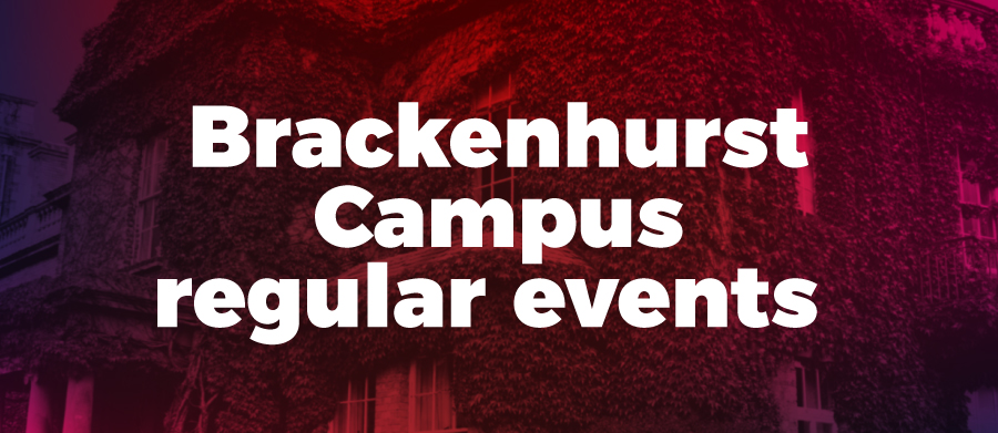 Brackenhurst Campus regular events
