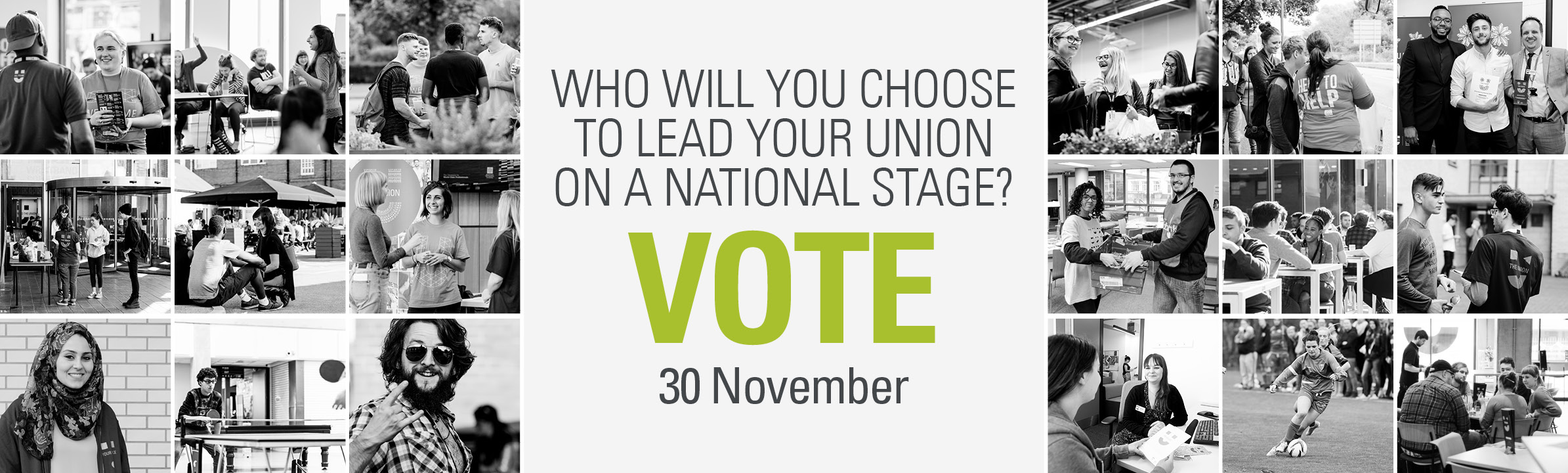 NUS elections - voting opens 30th November