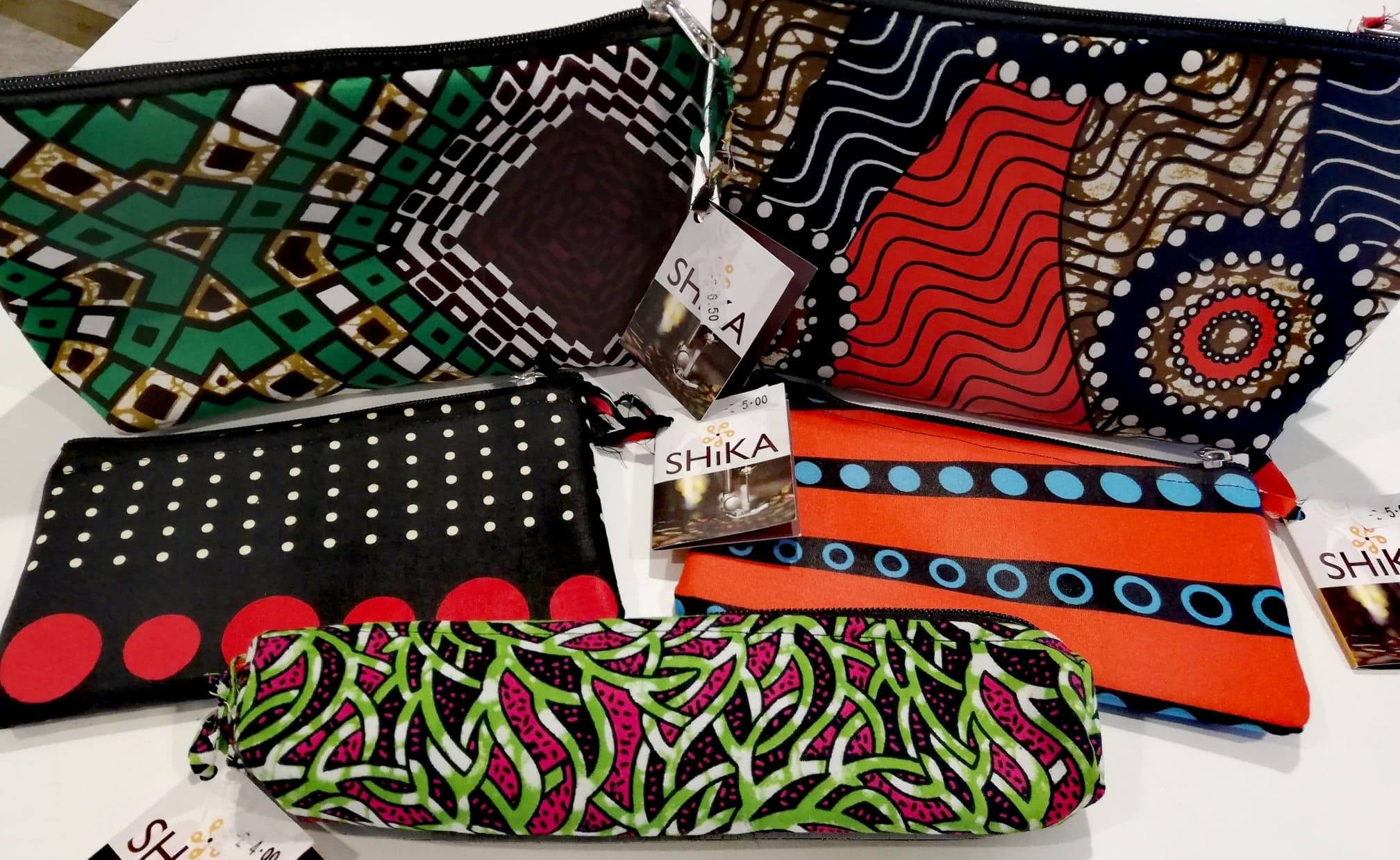 Shika pencil cases in different patterns and sizes