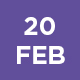 20th Feb