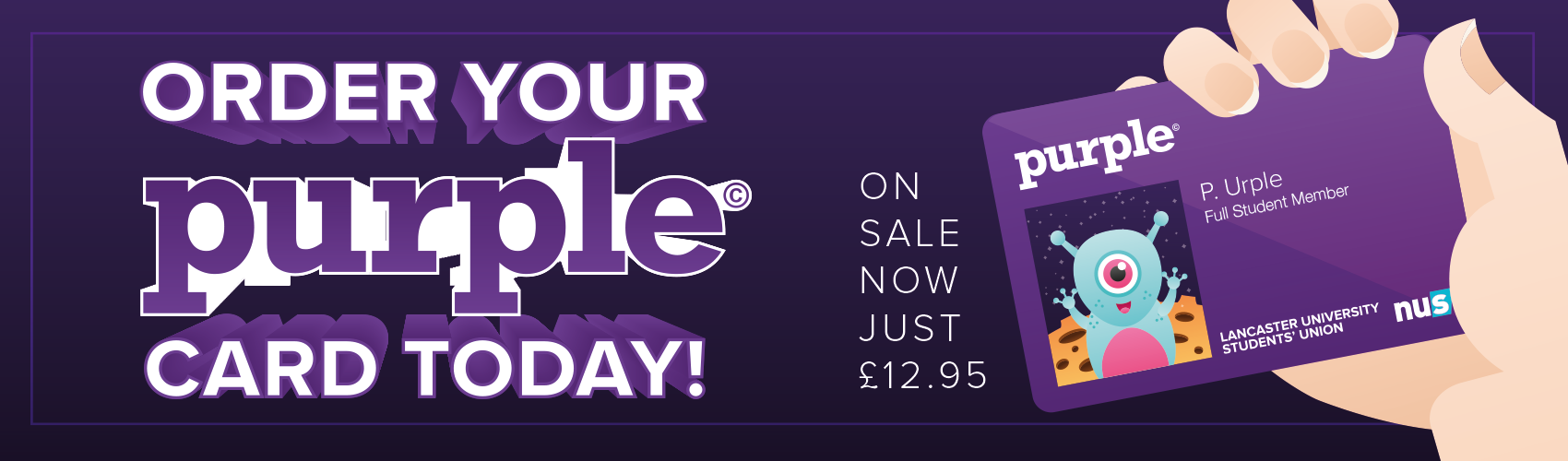 Click to order your Purple card today