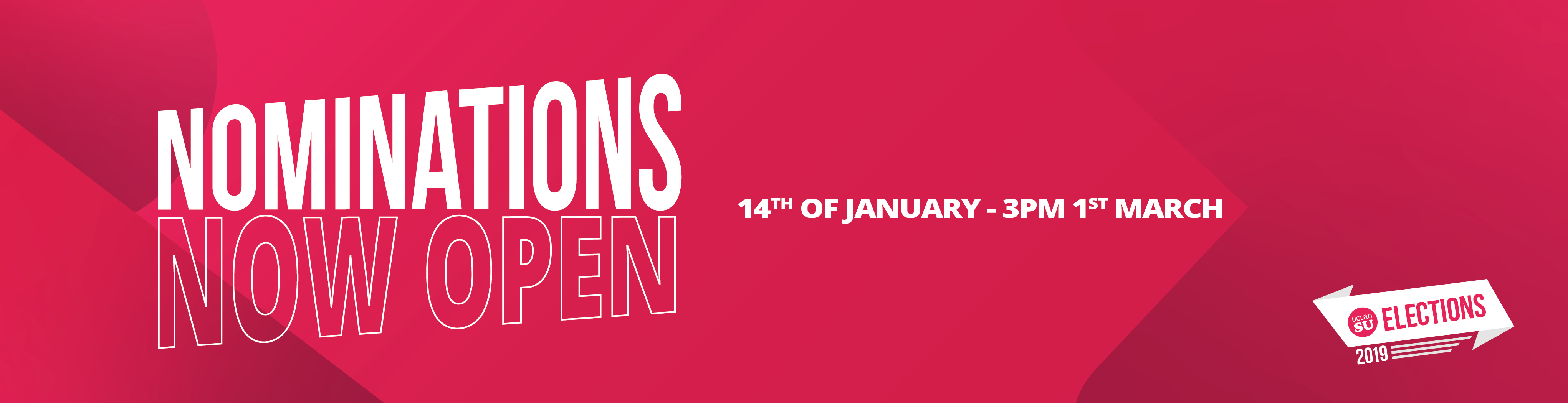 UCLan SU Elections 2019 now open