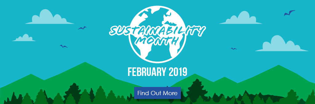sustainability month banner