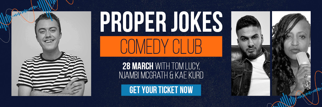 proper jokes comedy club