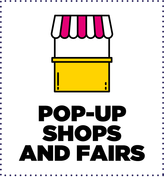 Popup fairs