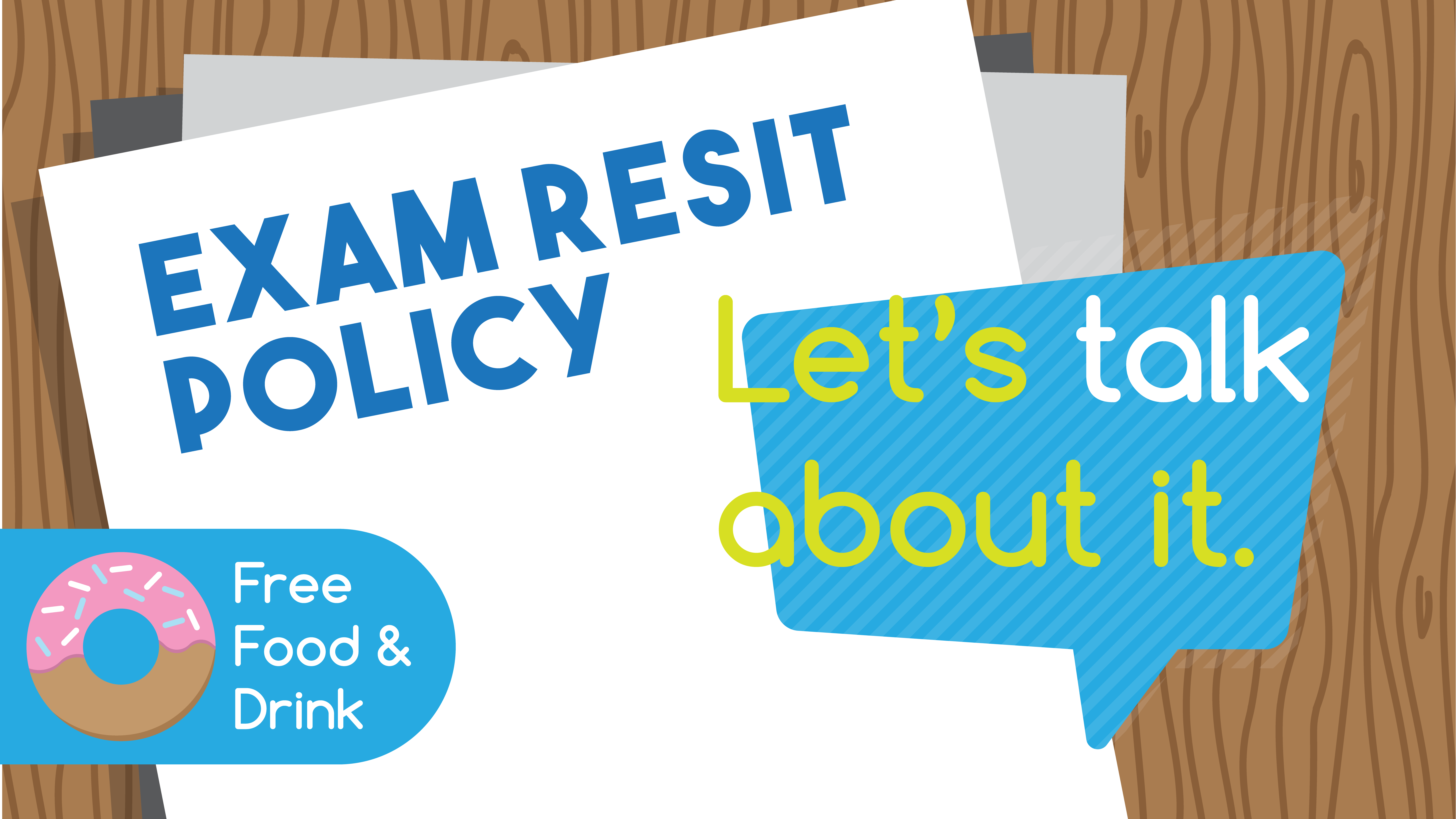Exam Resit Policy Campaign