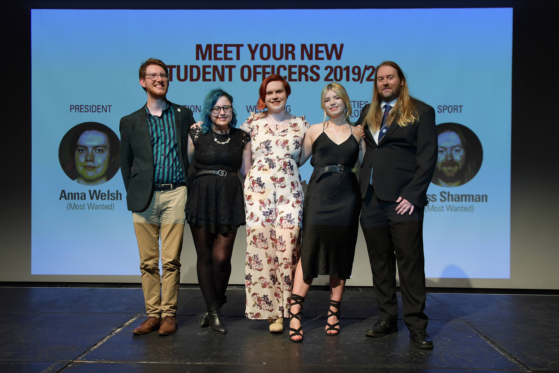 New Elected Student Student Officer Team Revealed Manchester Metropolitan University Students Union