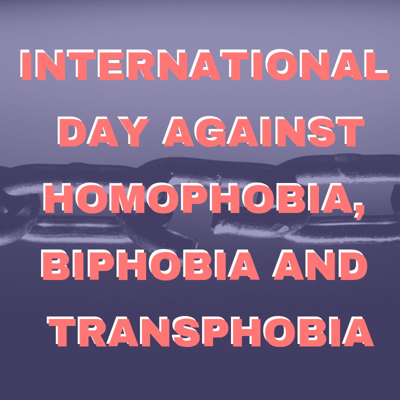 International Day Against Homophobia, Biphobia and Transphobia