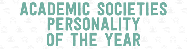 Academic Societies Personality of the Year