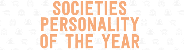 Societies Personality of the Year