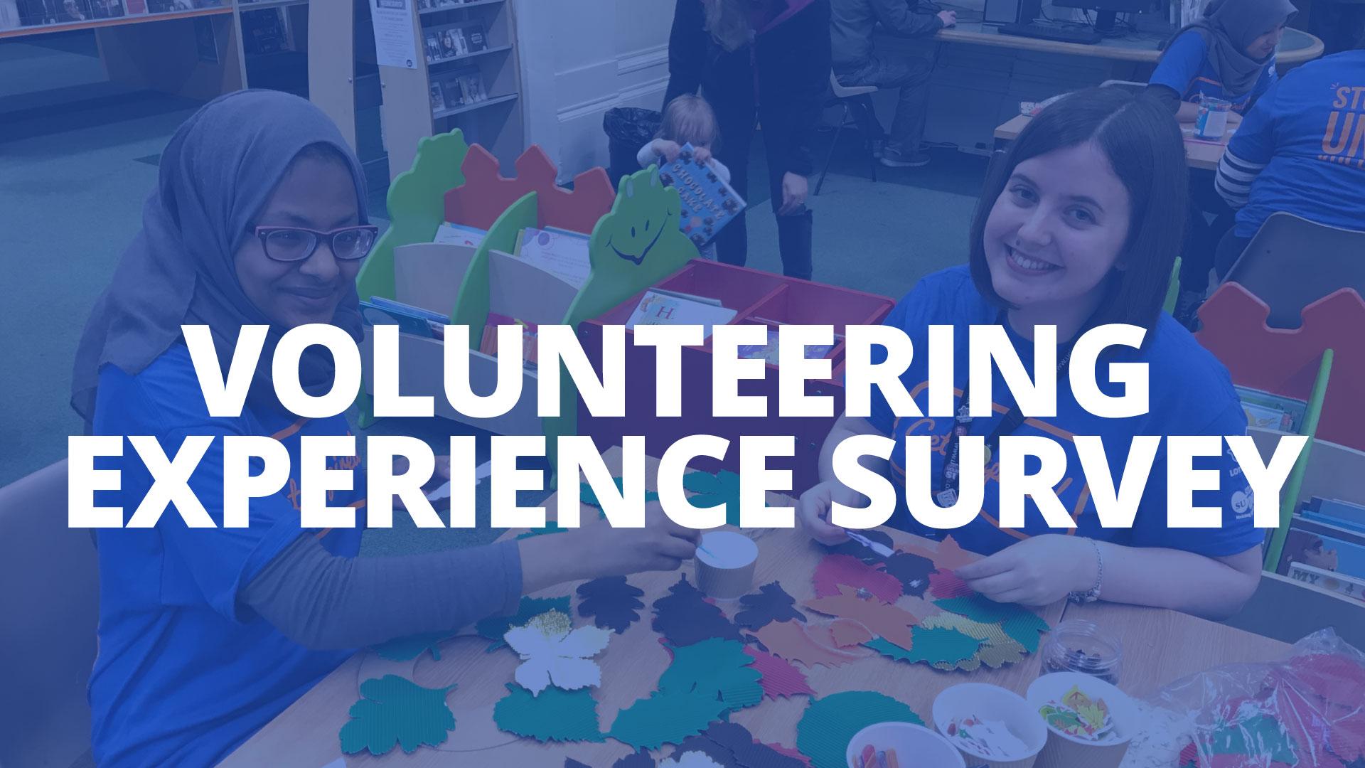 Volunteering awards button