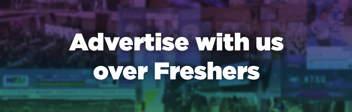 Advertise with us over freshers
