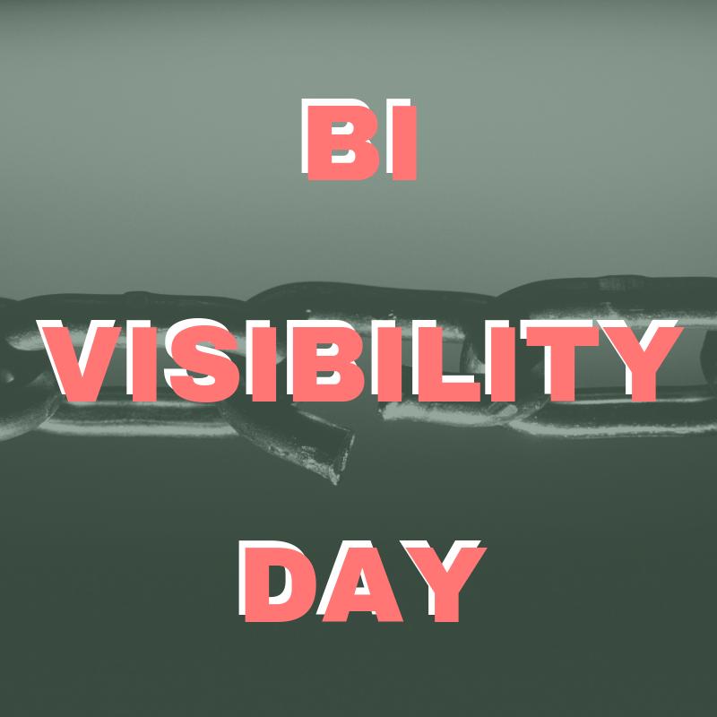 23rd: Bi Visibility Day