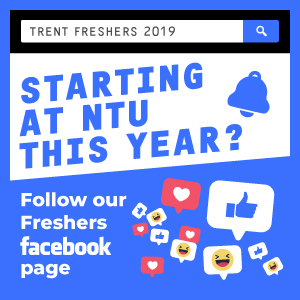 Starting at NTU this year? Follow our freshers facebook page