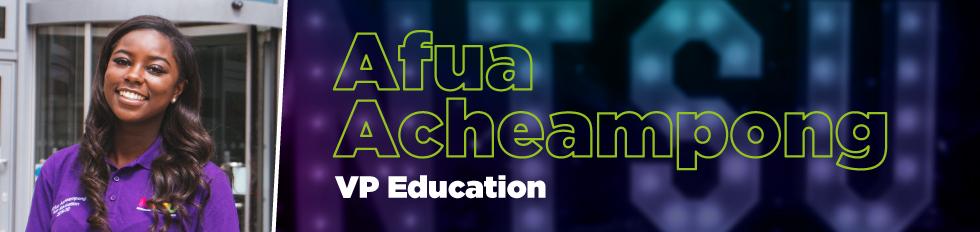 Afua Achaempong VP Education