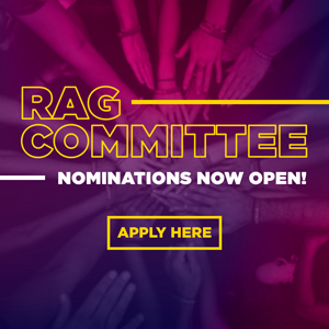 RAG committee nominations now open apply here