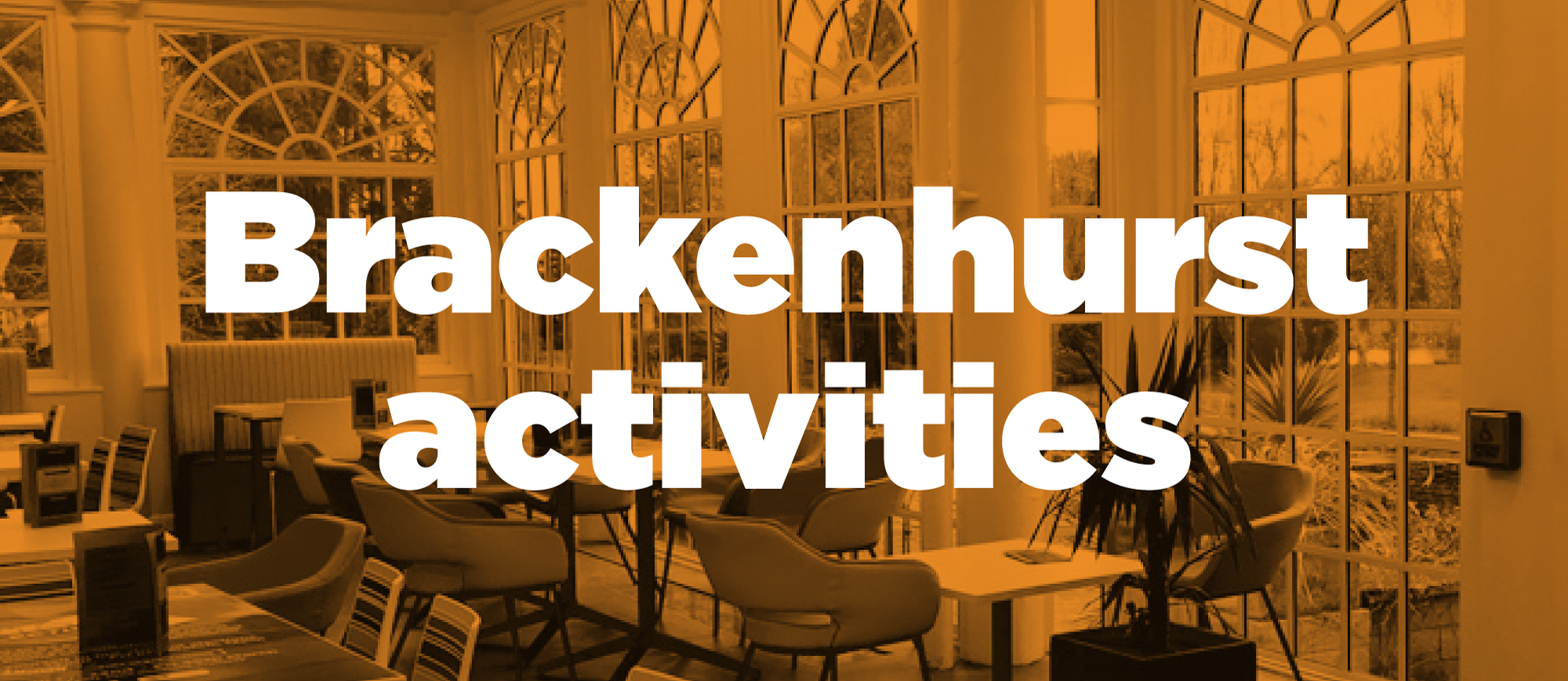 Brackenhurst Activities
