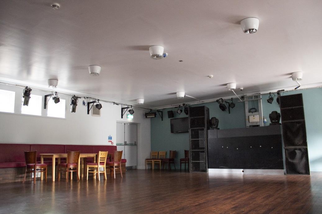 The basement bar