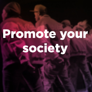 Promote your society