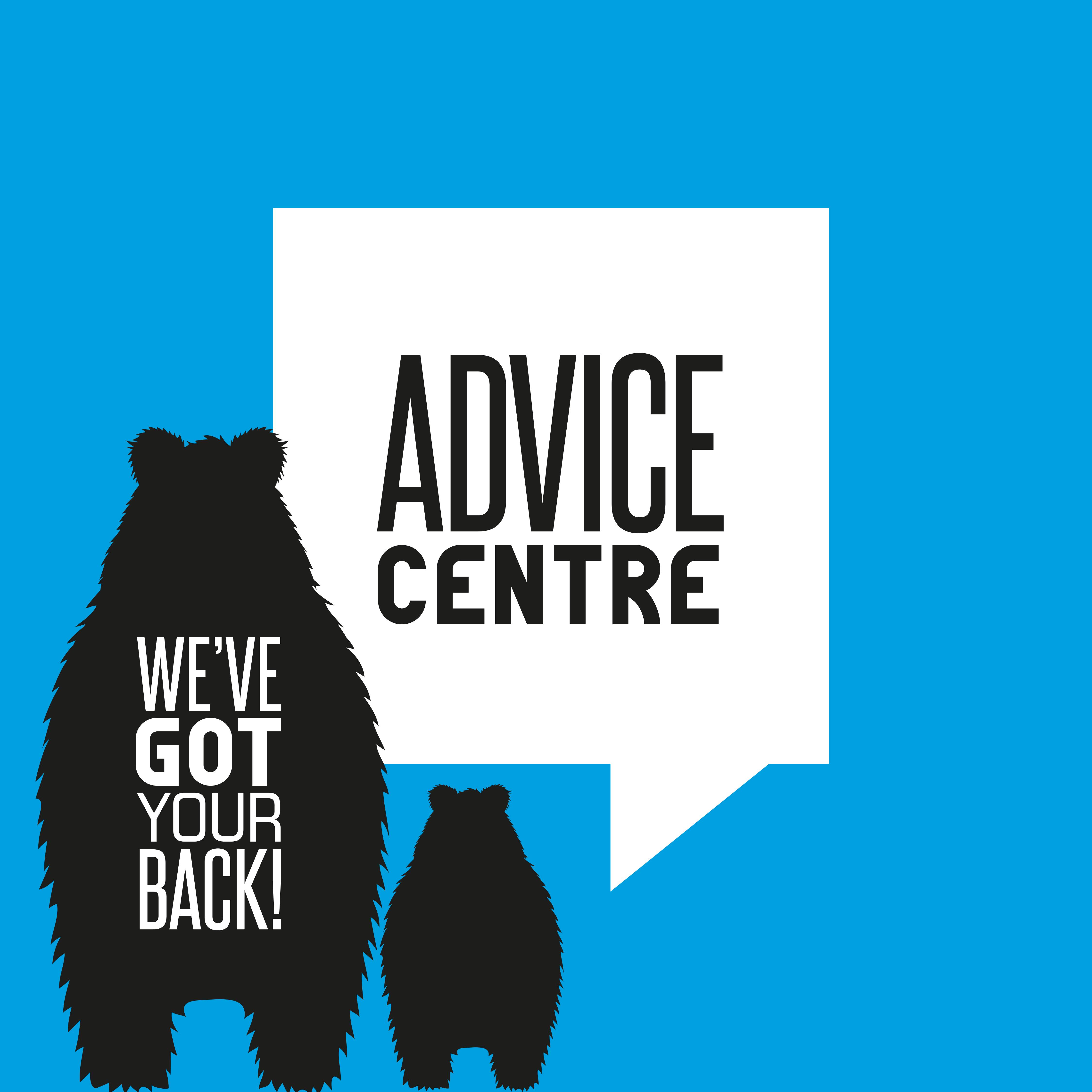 Web Button: Advice Centre.