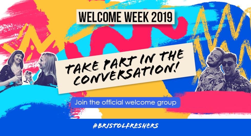 Welcome Week 2019 Facebook Group