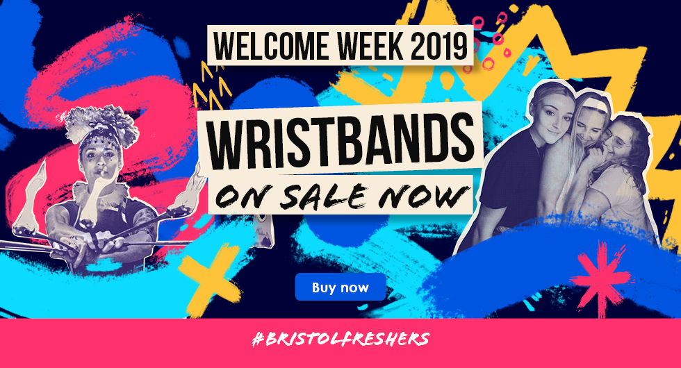 Welcome Week 2019 Wristbands on Sale Buy Now