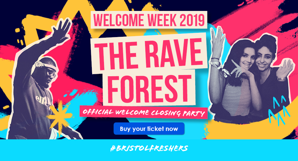 Welcome Week 2019.  The Rave Forest. Buy Your Ticket Now.