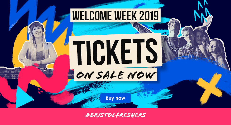 Welcome Week Tickets on Sale Now