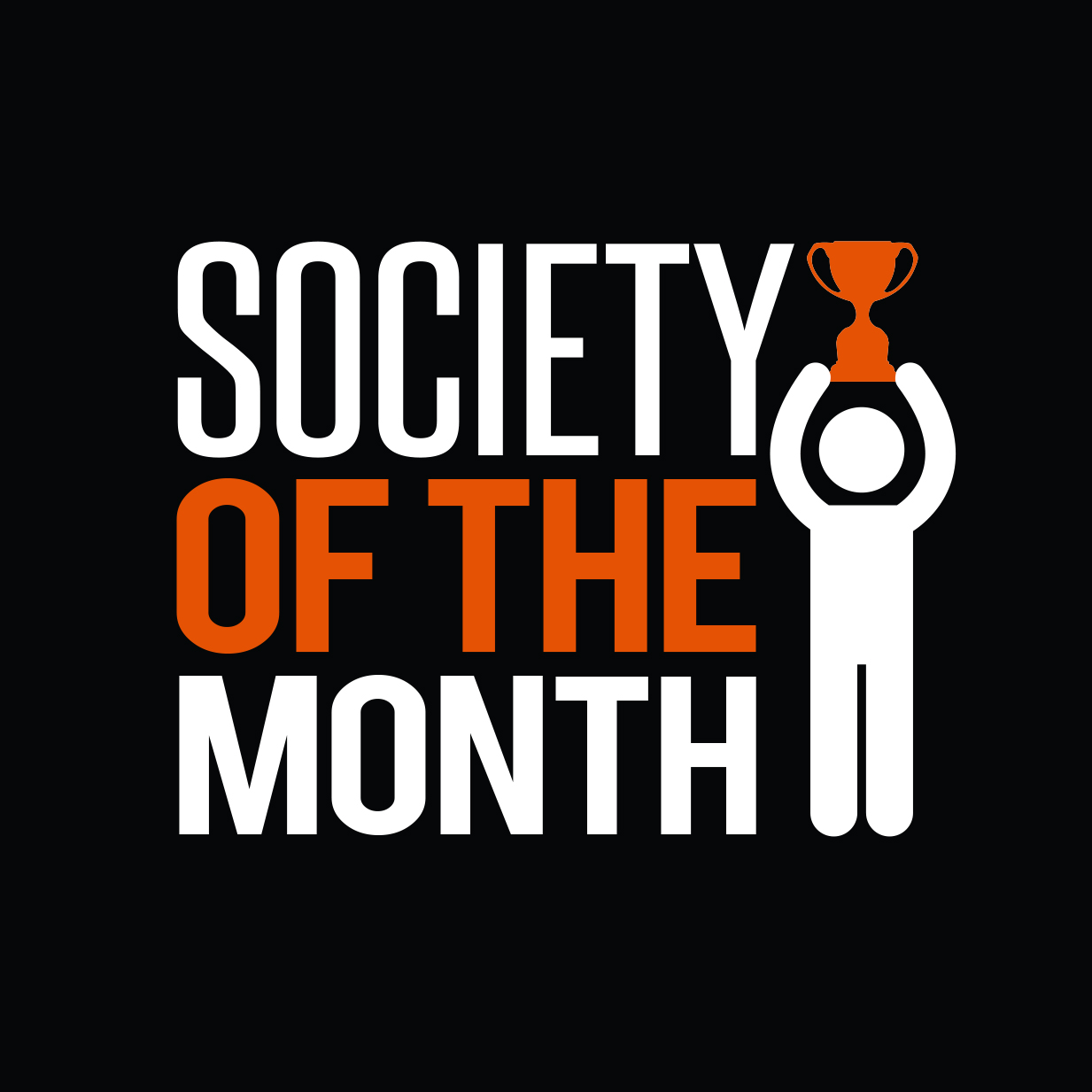 Web Button: Society Of The Month
