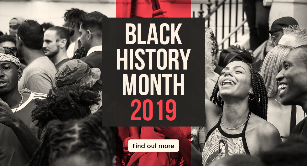 Black History Month October 2019