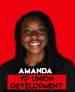 Amanda - VP Union Development