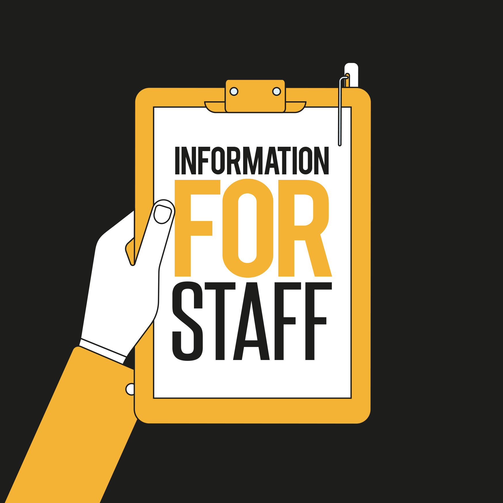 Web Button: Information for Staff