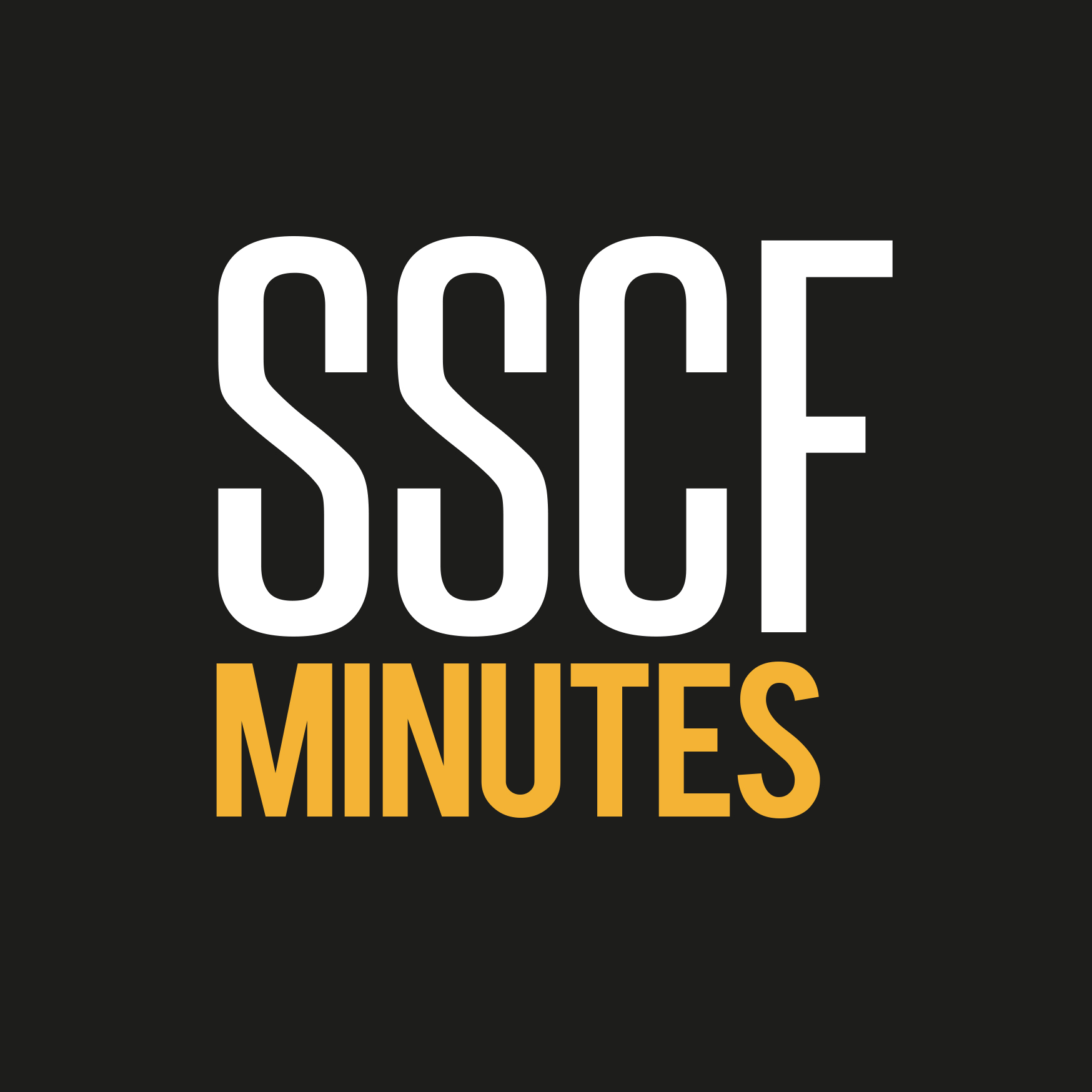 Web Button: SSCF Minutes