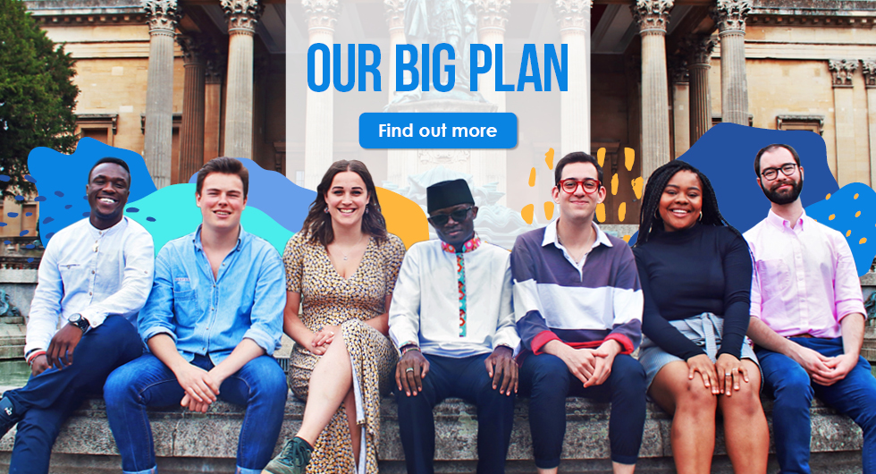Our Big Plan from your Bristol SU Officers 2019 2020