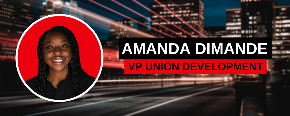 Amanda - VP Union Development