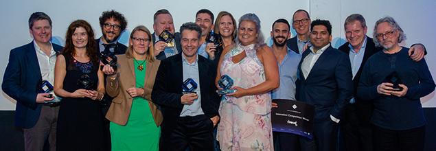 Best In Class award winners at awards ceremony in Berlin