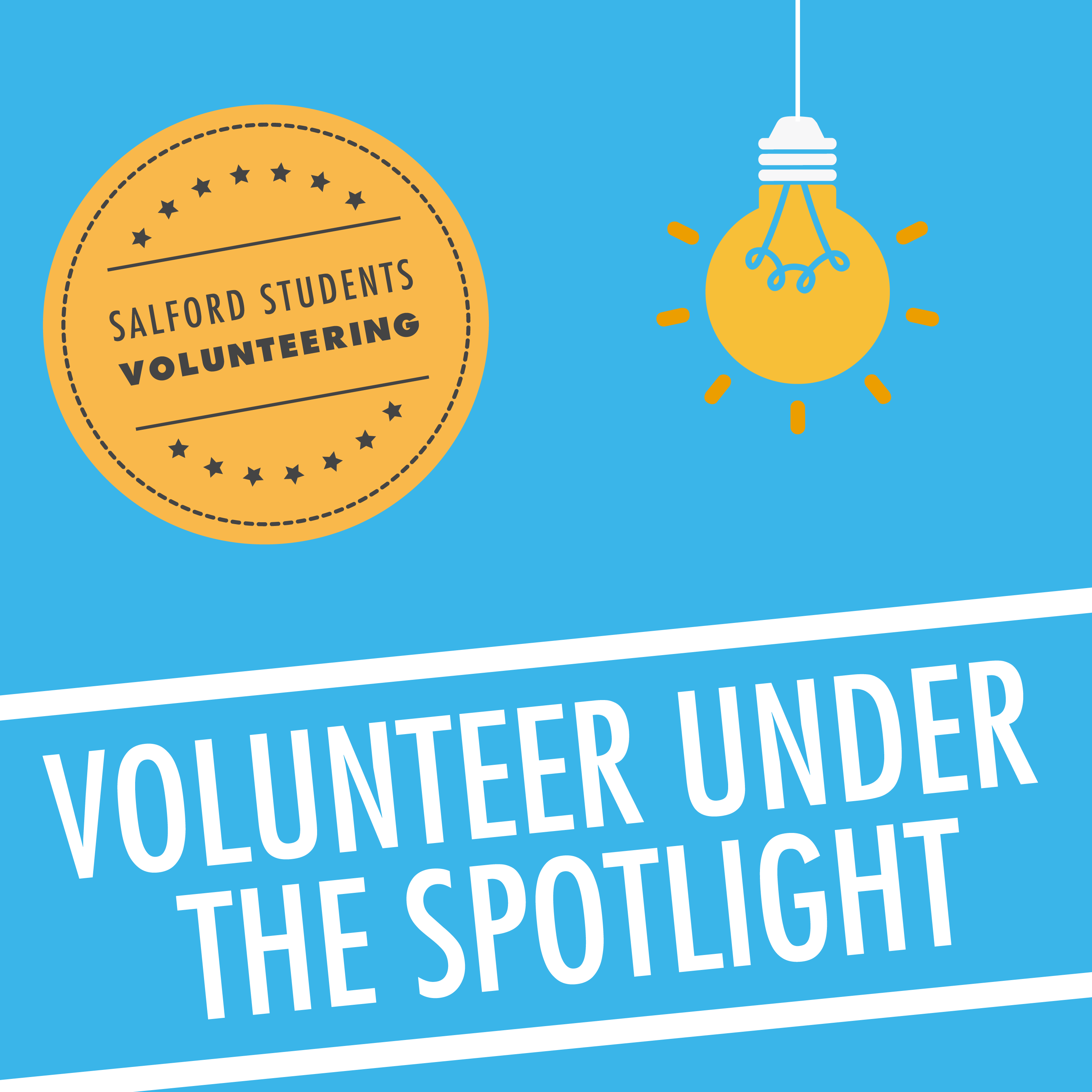 Volunteer under the Spotlight