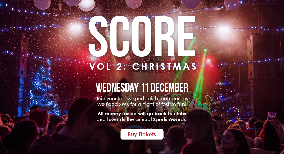Score Vol.2: Christmas Wednesday 11 December at SWX