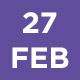 27 Feb