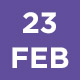 23 Feb