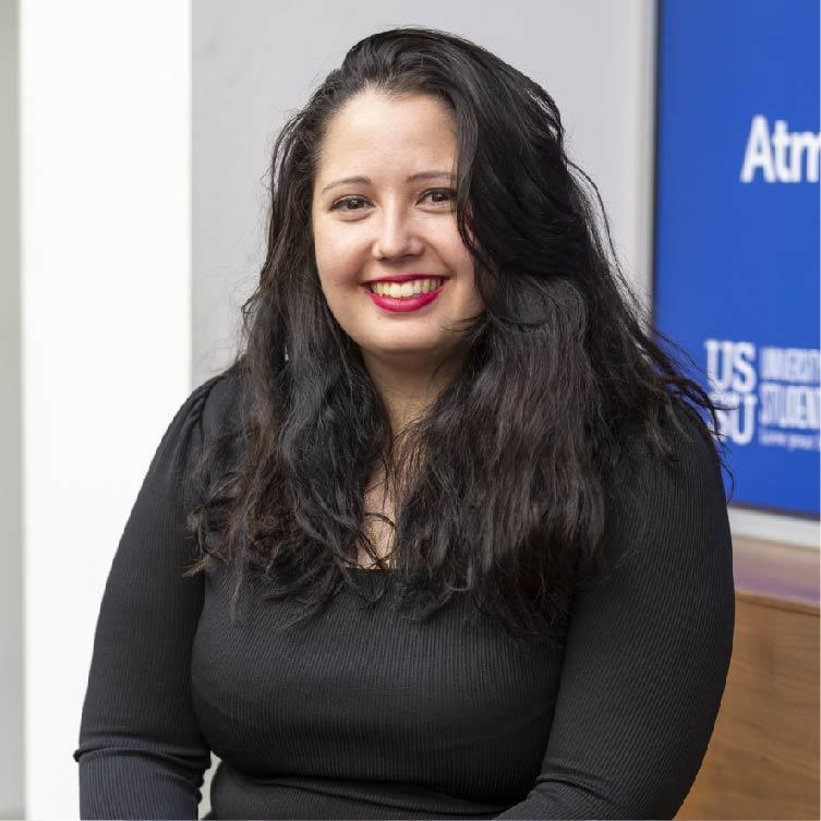 Evie Adams - President