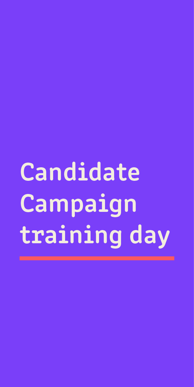 Candidate Campaign Training Day