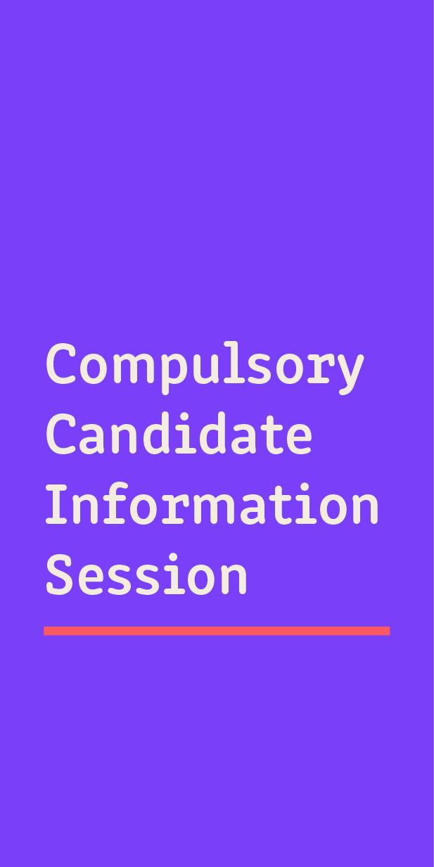 Compulsory information