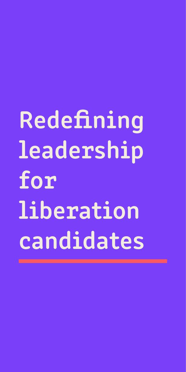 readefining leadership