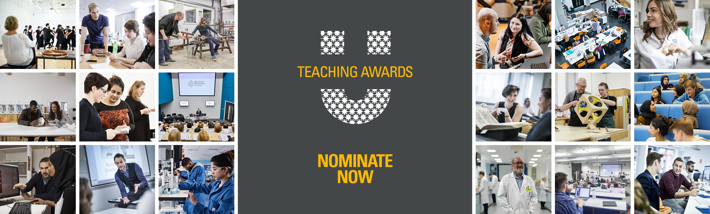 Teaching Awards banner