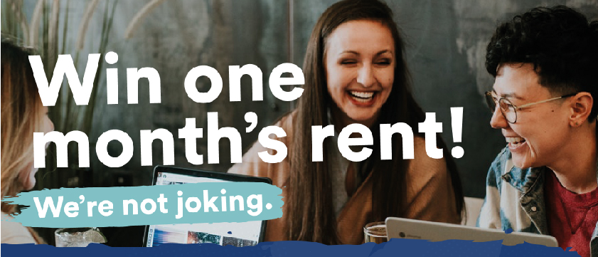 win one month's rent with HudLets