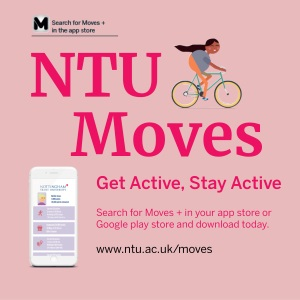 NTU Moves Get Active Stay Active Search for Moves+ in your App Store.