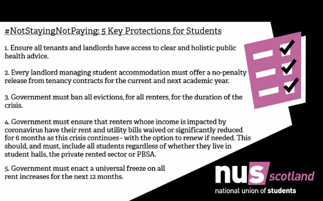 Not Staying Not Paying: 5 Key Protections for Students